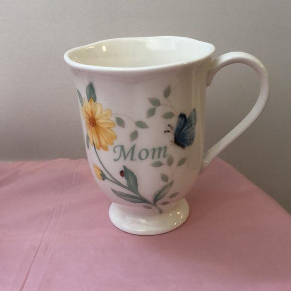 """Lenox coffee cup """"Mom"""""""